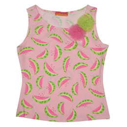 Kate Mack Wild Watermelon Tank Top