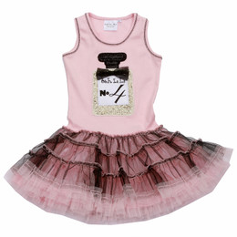 Ooh La La Couture Perfume Birthday Dress - Pink Parfait / Black