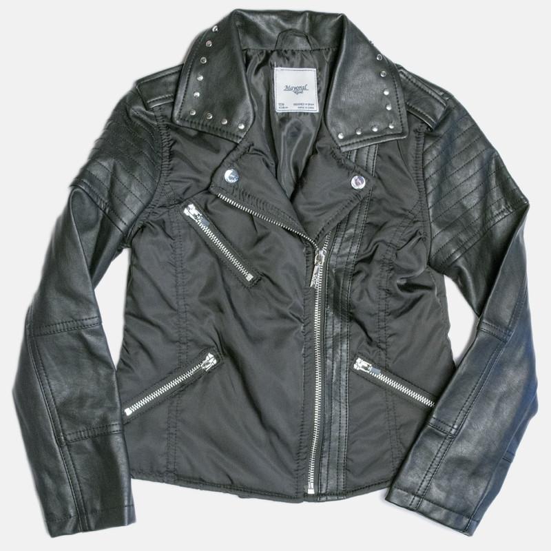 cd6ab2e68 Mayoral Faux Leather Combo Jacket - Black