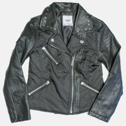 Mayoral Faux Leather Combo Jacket - Black