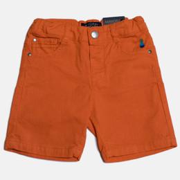 Mayoral Denim Bermuda Shorts - Chili