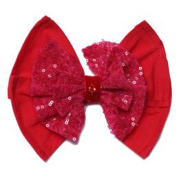 Isobella & Chloe Ruby Red Headband