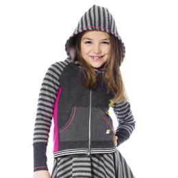 Deux Par Deux Eye On Fashion Hooded Jacket