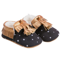 Catimini Ethno City Conte D'Hiver Crib Shoes