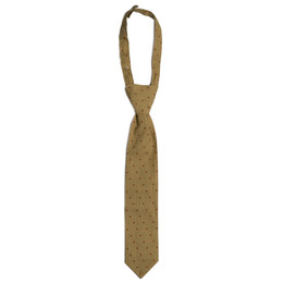 Mustard Pie Woodland Magic Boy's Necktie - Gold