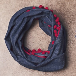 Jak & Peppar Wild Hearts Like The Wind Scarf - Chambray