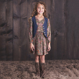 Jak & Peppar Wild Hearts Hudson Dress