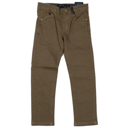 Mayoral Twill Slim Fit Trousers - Marron