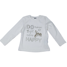 Mayoral Happy Letters Tee - Crudo