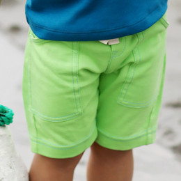 Lemon Loves Lime Gnu Brand Cargo Shorts - Jas Green