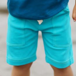 Lemon Loves Lime Gnu Brand Cargo Shorts - Scuba Blue
