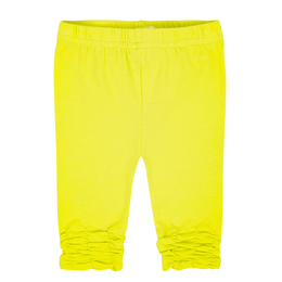 Deux Par Deux Summer Talk Ruched Legging - Limeade