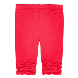 Deux Par Deux Summer Talk Ruched Legging - Teaberry