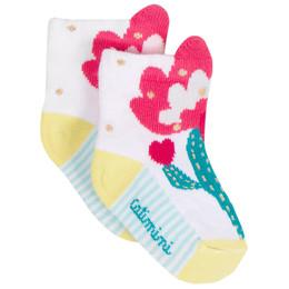 Catimini Nomade Garden Oasis Flower Socks