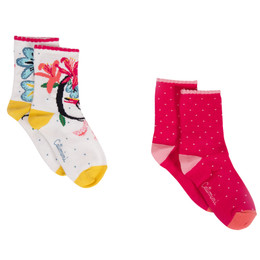 Catimini Nomade Tropical Garden Socks - 2 pairs