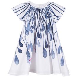 Catimini Creative Fantaisie Aquatic Garden Flared Dress