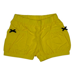 Catimini Nomade Tropical Garden Bubble Short - Yellow