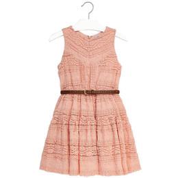 Mayoral Lace Dress w/Belt