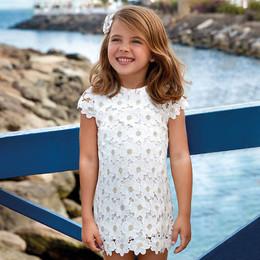 Mayoral Daisy Chain Shift Dress