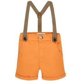 Mayoral Chino Shorts w/Suspenders
