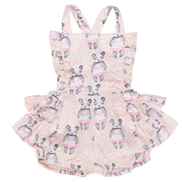 Paper Wings Random Pandas Pinafore Bloomers
