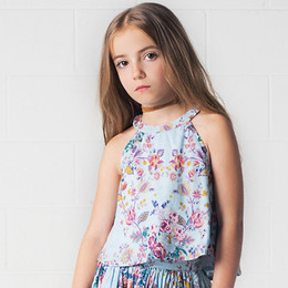 Jak & Peppar Indian Summer Lola Swing Top