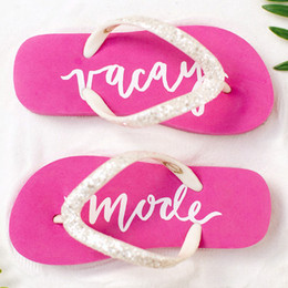 "Joyfolie Paradise Flip Flops - ""Vacay Mode"""