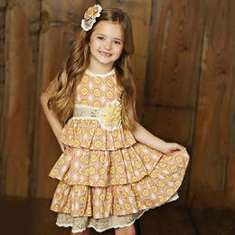 Mustard Pie Sweet Pea Clara Dress