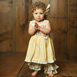 Mustard Pie Sweet Pea Emma 2pc Dress Set (**Now up to size 6X**)