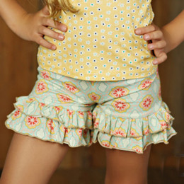 Mustard Pie Sweet Pea Ella Shortie - Multi