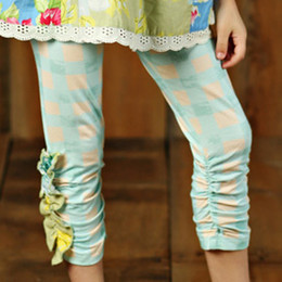 Mustard Pie Apple Blossom Leila Legging - Aqua