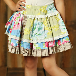 Mustard Pie Apple Blossom Penelope Skirt