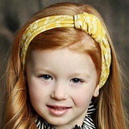 Mustard Pie English Blue Gidget Headwrap - Golden
