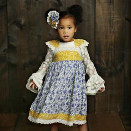 Mustard Pie English Blue Isadora Dress - English Blue (*Top Sold Separately*)