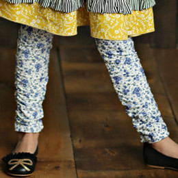 Mustard Pie English Blue Leila Legging - English Blue