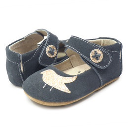 Livie & Luca Pio Pio Baby Shoes - Gray Suede (Fall 2018)