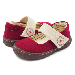 Livie & Luca Carta II Shoes - Dark Red (Fall 2018)