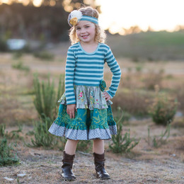 Giggle Moon Loving Deer Hannah Dress