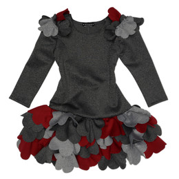 Biscotti Ruffles and Roses Ruffles Dress