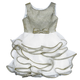 Biscotti Party Girl Ruffled Skirt Dress