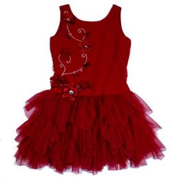 Biscotti Timeless Elegance Drop Waist Dress
