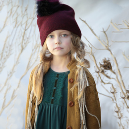 Blu Pony Vintage Zuzu Dress - Winter Green