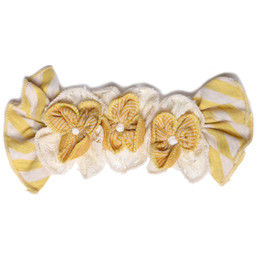 Isobella & Chloe Goldilocks Hard Headband - Yellow