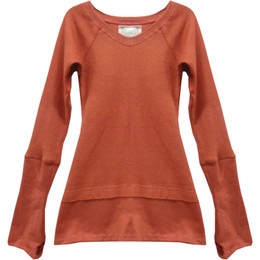 Joyous & Free Earth Elements Lounge Top - Pumpkin