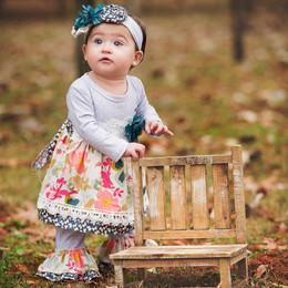 Haute Baby Gracie's Garden 2pc Swing Set