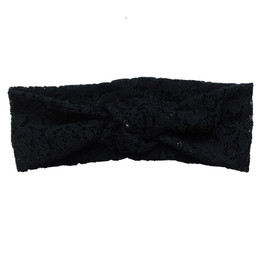 Jak & Peppar Gypsy Headband - Black Lace