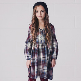 Jak & Peppar Lolla Dress - Washed Plaid
