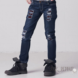 Jak & Peppar Peppar Patch Skinnies - Brick Patch