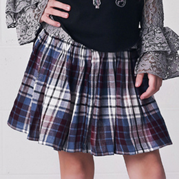Jak & Peppar Prima Donna Skirt - Washed Plaid