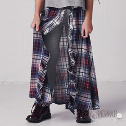Jak & Peppar Earth Wind and Fire Maxi Skirt - Washed Plaid